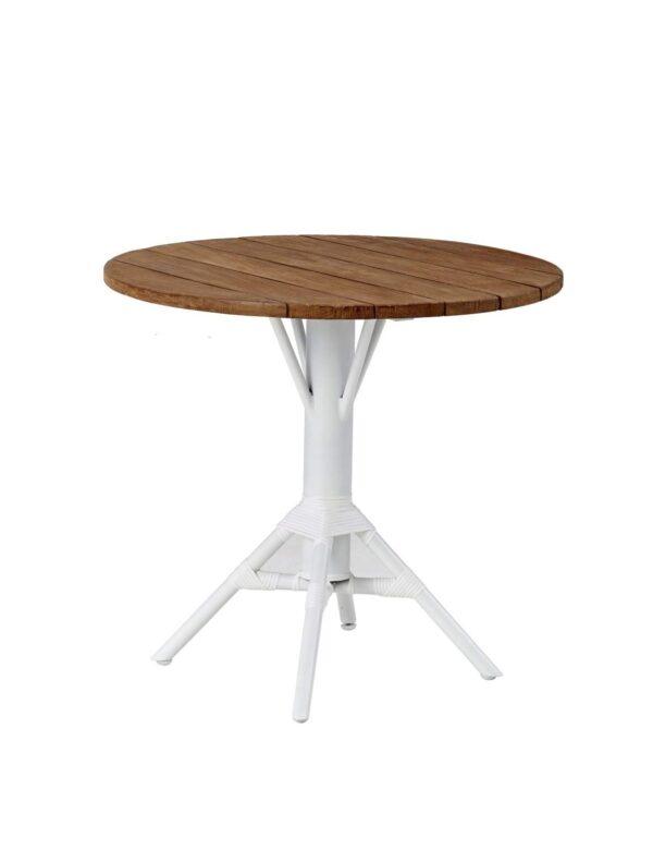 Cafébord NICOLE 80 cm teak runt, Sika-Design