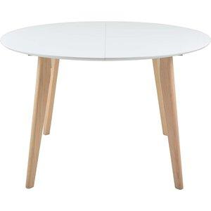 Fjälkestad matbord - Vit/ek