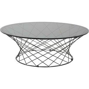 Furuborg soffbord - Glas/stål
