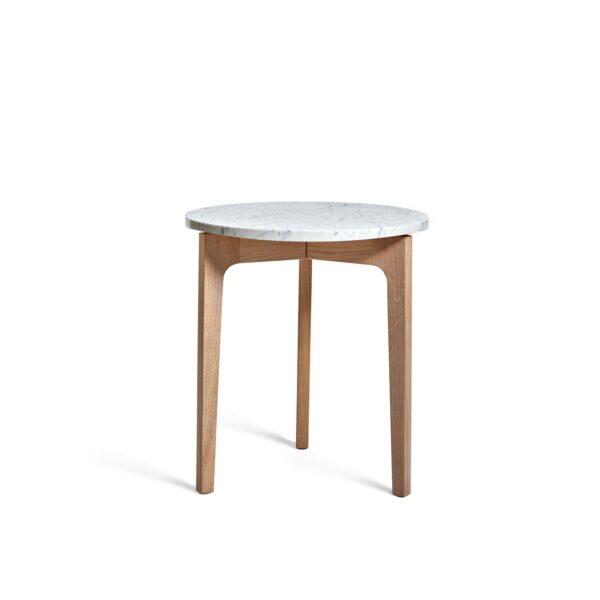 Höllviken sidobord ek/ marmor, Mavis