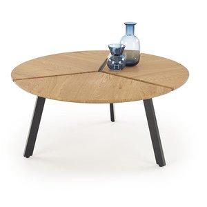 Josephina soffbord - Ek/svart
