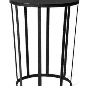 Petite Friture Hollo sidobord/stool – Svart