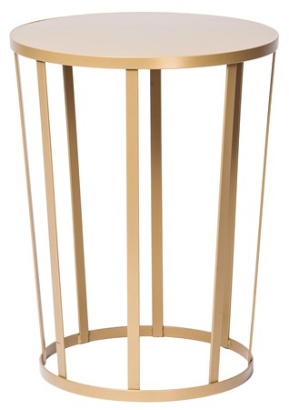 Petite Friture Hollo sidobord/stool - guld