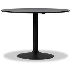 Seat matbord högtryckslaminat - Svart - ø110 cm