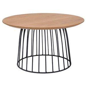 Soffbord Danna 60ø - Ek/svart