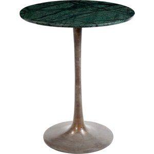 Yambio cafébord - Grön marmor