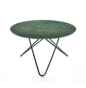 Big O table Matbord Green Indio/Svart Ø120 cm